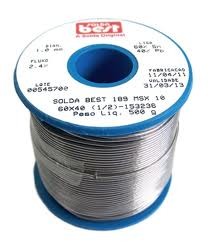 Solda best rolo 60X40 500GR 1,0MM