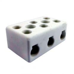Conector Rondal 3503 P/Cabo 16MM 600V 50A PR - Porcelana até 350°C Corrente: 50 A