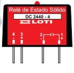 Rele Estado Sólido DC/DC 4A P/CI  DC2440-4