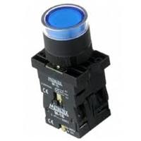 Botão Pulso C/Led Azul 220V P20-IFR-BL-1C 1NA/NF