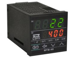 Controlador de Temperatura Saida a Rele MTB-48R - Frontal 48x48 90a 260vac