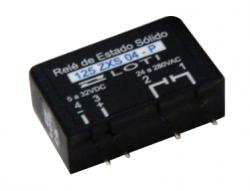Rele estado Loti sólido 125ZXS 04 p/circuito impresso 4A