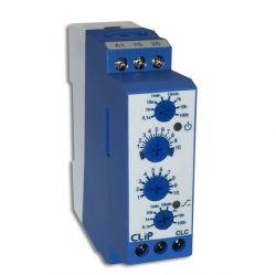 Rele Temporizador Ciclico Clip CLC 24-240VCC/VAC - 0,1 Seg. a 100 H.