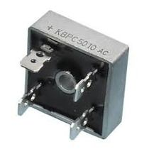 Ponte retificadora monofasica KBPC5010 50A 1000V