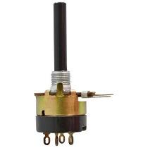 Potenciometro Log. 4K7 C/chave 23mm
