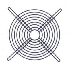 Grade proteção preta p/mini ventilador 60 mm