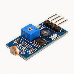 Módulo Sensor De Luz Luminosidade Fotoresistor Lm393 Arduino