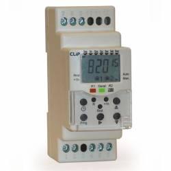 Progamador Clip (Timer 24VCC/VAC) Horario Digital Diário/Semanal CLB-40 24VCC/VAC