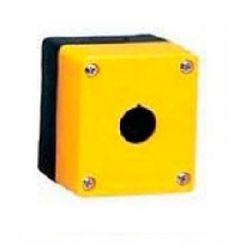 Caixa plastica Vazia BMY101 - 1FURO AMARELA
