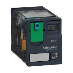 Relé miniatura - Zelio RXM3AB2P7 - 3NA+3NF - 230VCA - 10A - C/LED