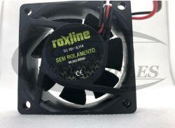 Micro Ventilador Roxline 60X60X25 12VCC