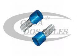 TERMINAL PRE-ISOL. 2,5MM ILHOS  AZUL  PZ-E2508 PCT C/ 100
