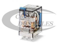 Rele finder p/solda 5534.9006.0040 6 VCC