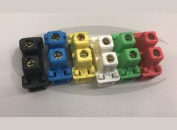 Conector CA-10  Color Unipolar C/ Bornes Moveis 2,5M A 10MM