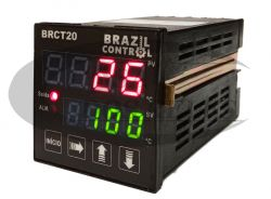 Controlador Digital De Temperatura BRCT20-AA6 48X48 BIVOLT