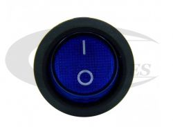 Chave Gangorra c/ Lampada KCD1-106N 3T Azul