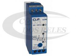 Monitor Clip Falta e Sequencia de fase CLPW 2 Contatos 220-480V