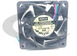 Mini Ventilador AG06024HB257603  60X60X25 24v  C/Rolamento