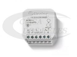 Rele Multifunção 13.22.8230.B000 2 Canais Bluetooth Branco - 230vac Global