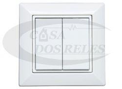 Botão 013B9 Bluetooth 4 Canais Branco