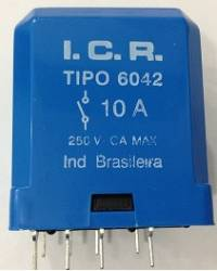 Rele ICR 6042.9012 10A 12VCC
