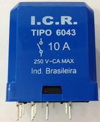Rele ICR 6043.9024 10A 24VCC