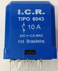 Rele ICR 6043.9012 10A 12VCC