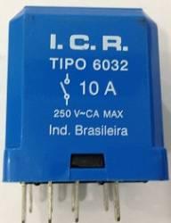 Rele ICR 6032.9012 10A 12VCC