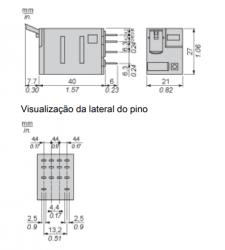Rele schneider RXM4AB2P7 230VAC 4REV.C/LED
