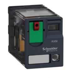 Rele shcneider RXM4AB2BD 24VCC 4REV.C/LED