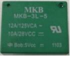 Rele p/circuito impresso MKB3L-5VCC