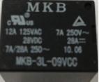 Rele p/circuito impresso MKB3L-9VCC