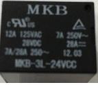 Rele p/circuito impresso MKB3L-24VCC