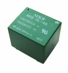Rele p/circuito impresso MKB3L-48VCC