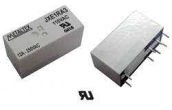 Rele circuito imp. JXE1RA3  110VAC 12A 1REV. METALTEX