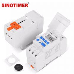 TIMER P/TRILHO DIN SINOTIMER 110/220VAC TM919K-16A