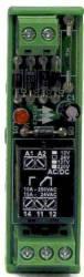 Acoplador a Rele AA1RF220V 15A 1REV. 220VAC/VCC