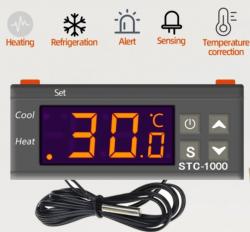 Termostato Digital STC 1000 Chocadeira - Freezer - Aquario - Cervejeira 110v/220v
