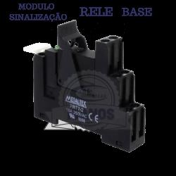 INTERFACE A RELE PRX-2RA4 2REV. 220VAC 8AMP