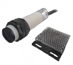 Sensor Retroreflectivo P18R-200-DNC NPN NA+NF 10-36VDC 2MT