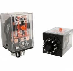 Rele metaltex T3RA22/L 24VAC 10A 3 REV. C/LED