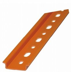 Trilho Din  em PVC com ABS rígido alto impacto Barra 20CM