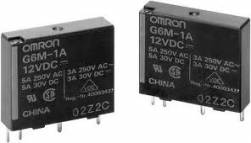 Rele omron G6M-1A-DC 24VCC