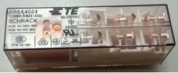 Rele schrack V23050-A1024-A542 / SR6B4024 4NA + 2NF 24VCC